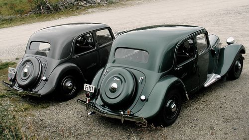 Citroën Traction Avant by Flaminio Bertoni