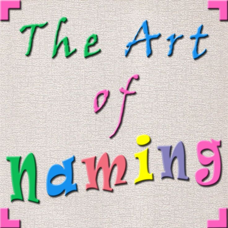 The Art of Naming is a blog dedicated to helping parents find the perfect name!