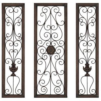 Beautiful Metal Wall Decor | 287946 | Home Design Ideas