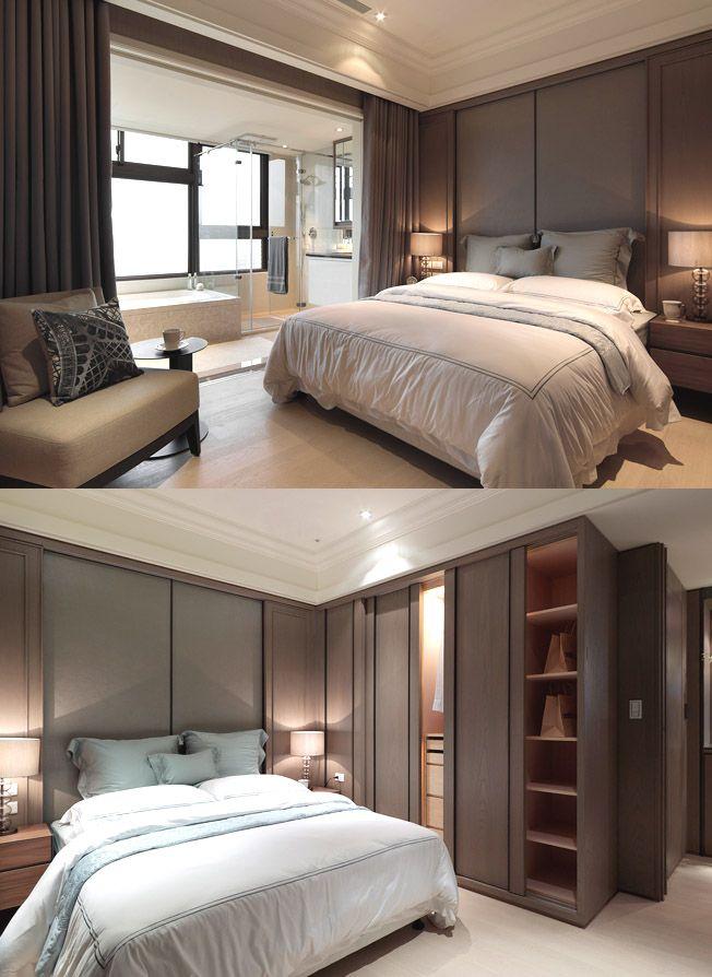 Bedroom Headboard Master Bed Decor Interior Decorating Makeover Design