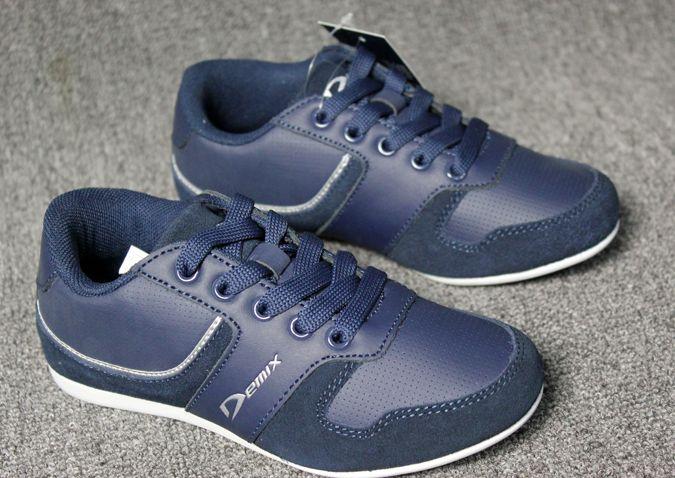 Торговля обувь мальчиков обувь для девочек Весна детская обувь маленькие синие кружева обувь прилив обувь повседневная обувь - Taobao