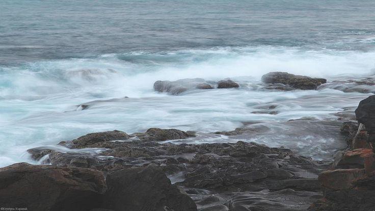 Water and rocks by krystyna kupiszak