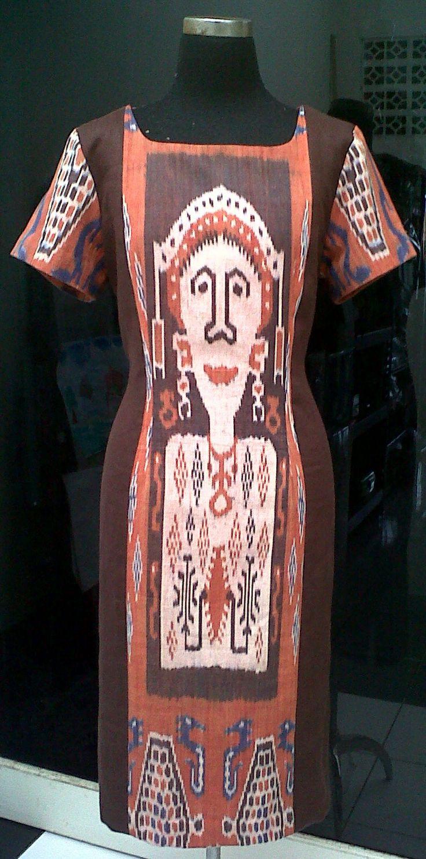 Ikat dress from Sumba Island Indonesia