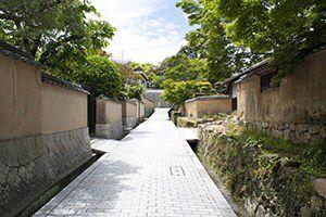 城下町長府 in Yamaguchi