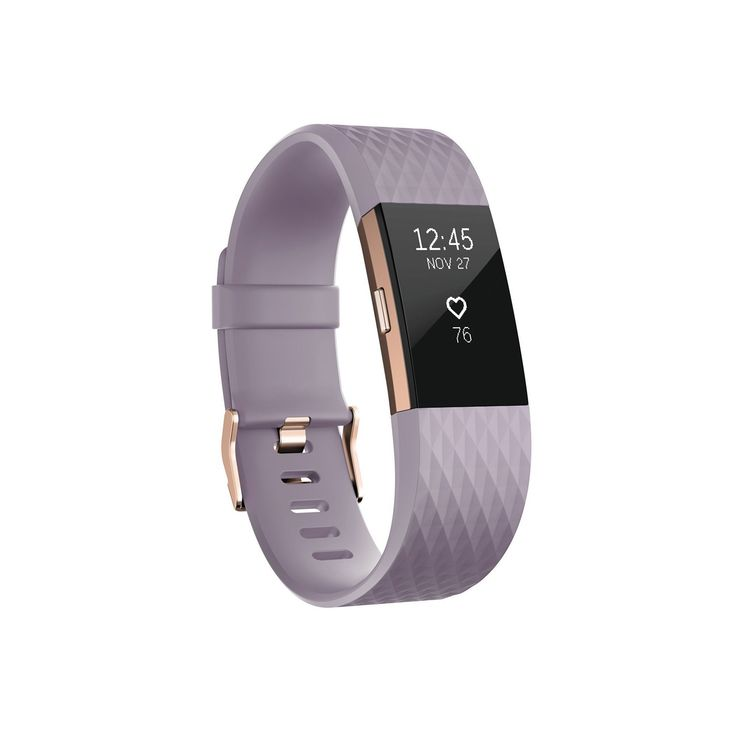 Fitbit Charge 2 Special Edition Heart Rate + Fitness Wristband, Gold