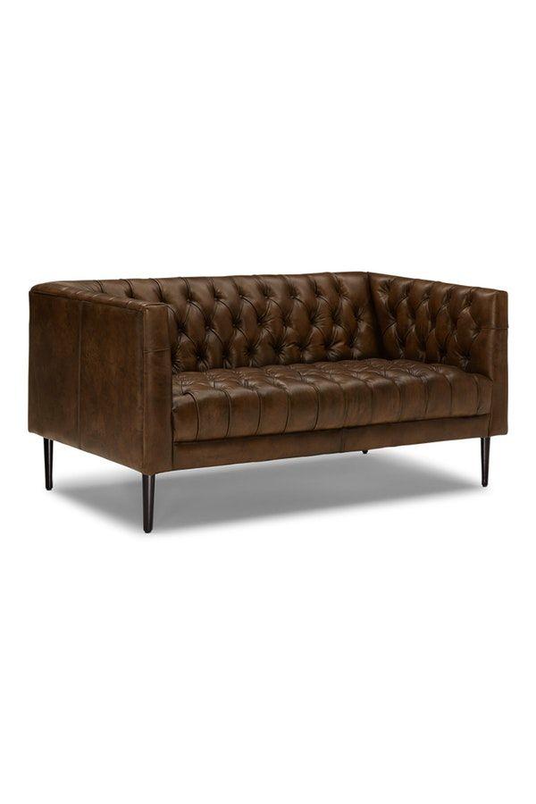 Vaughn Leather Apartment Sofa Apartment Sofa Sofa Furniture Sofa