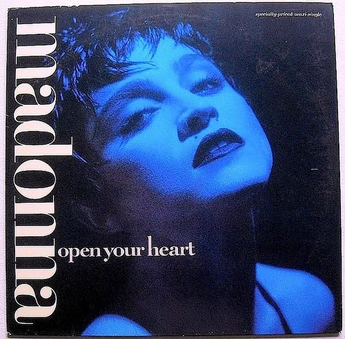 Madonna - Open your Heart Sire Records 12' 45rpm