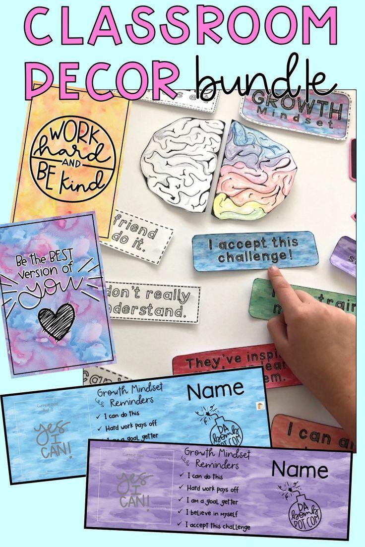 Watercolour Classroom Decor Bundle This Decor Bundle Includes Our Most Popular Classroom Organization Watercolor Classroom Classroom Decor Classroom Displays Most popular classroom pictures