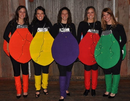 Christmas Lights Costume | Costumes for Programs | Pinterest