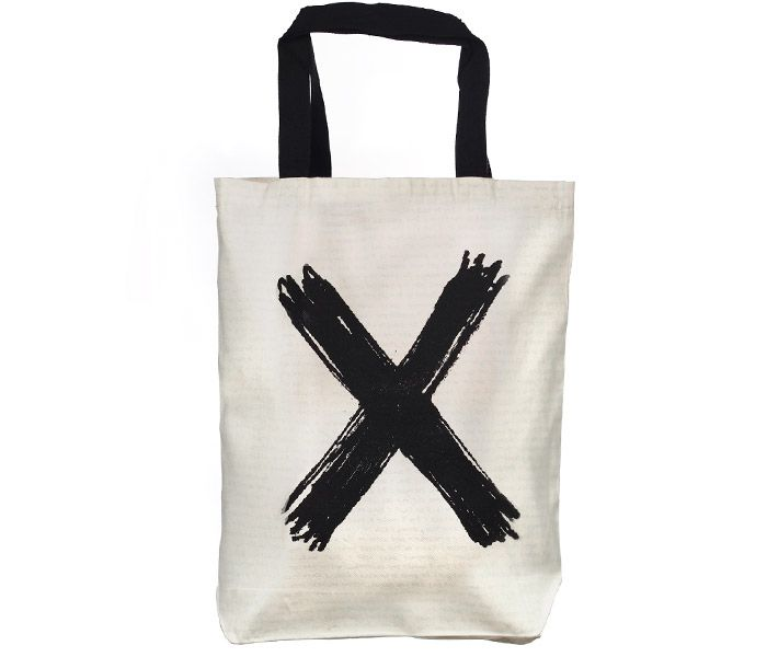 DELETION | Screen printed eco-friendly bag | Design by Nutty Tarts | by BAGNANAS