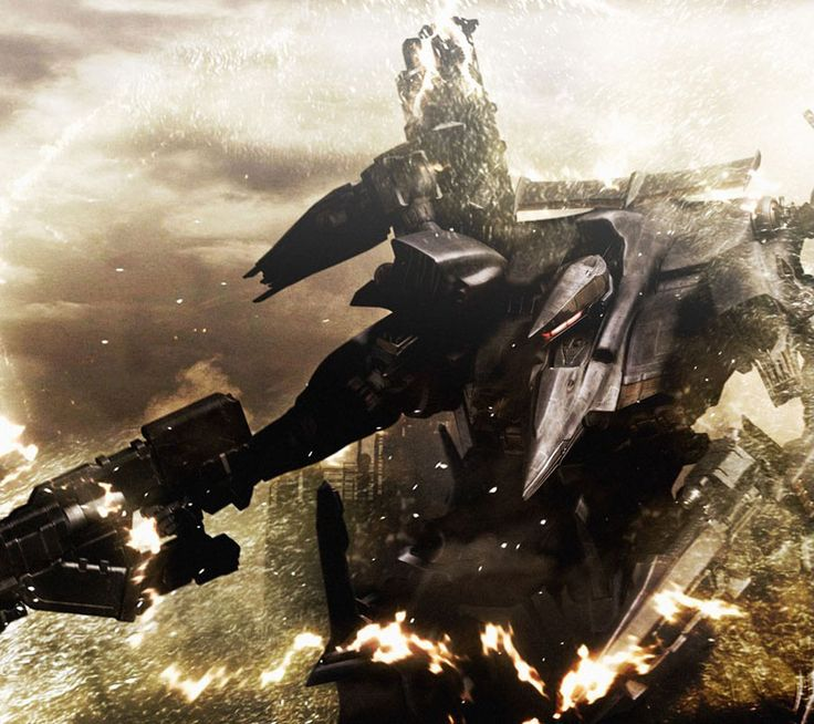 Armored Core 4 Art Gallery Containing Characters Concept And Promotional Pictures