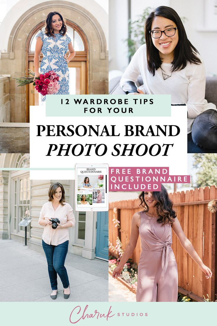 12 Wardrobe Tips For Your Personal Branding Photo Shoot With