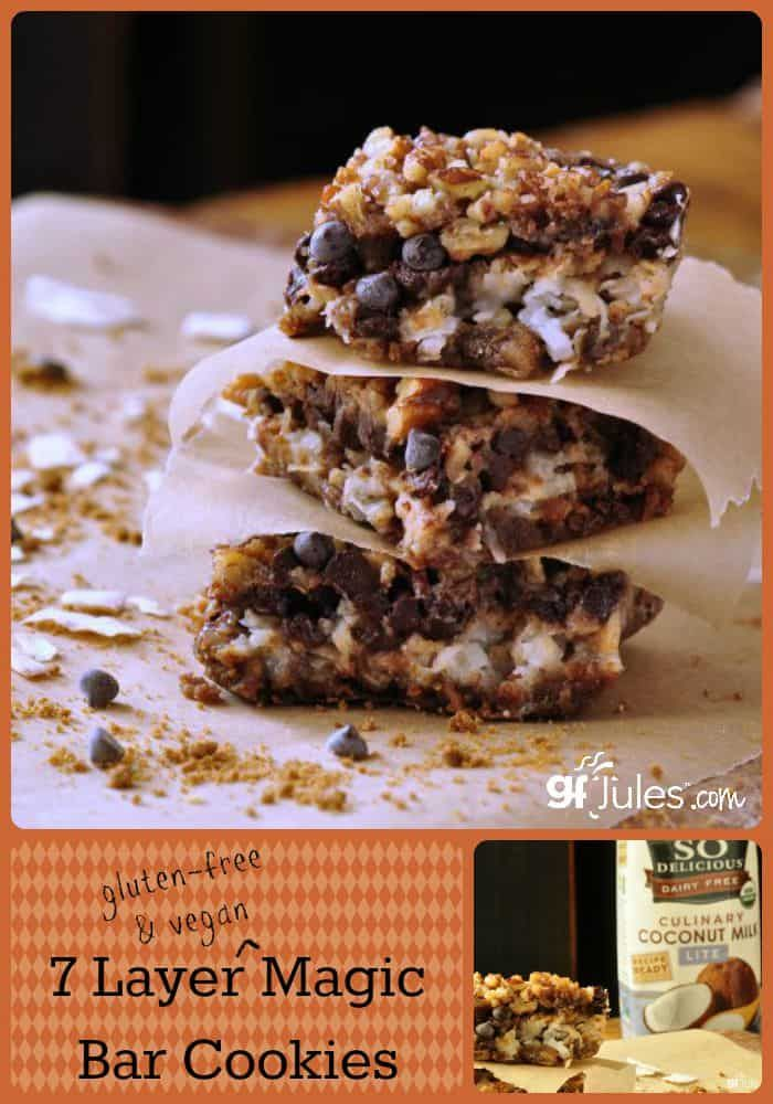 Gluten Free 7 Layer Magic Bar Cookies (Hello Dollies)