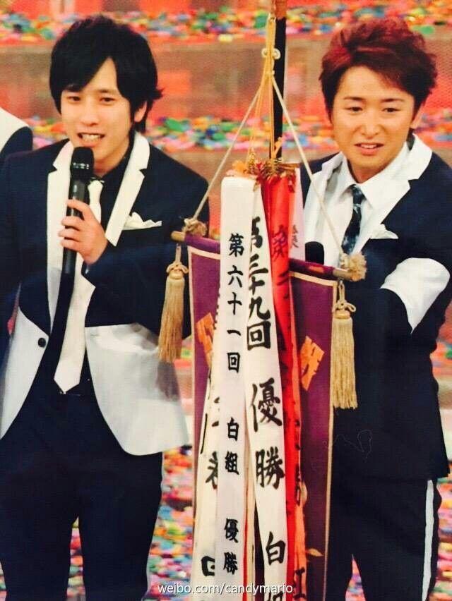 Ohno satoshi and ninomiya kazunari <3