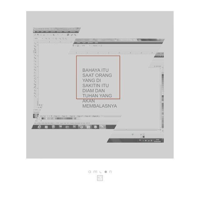 moon`87 _ cuma baru ngetik aja.. belum di `design` .. keburu salah paham  #wip #visualart #amoon #project #poster #design #graphic #belumtauami