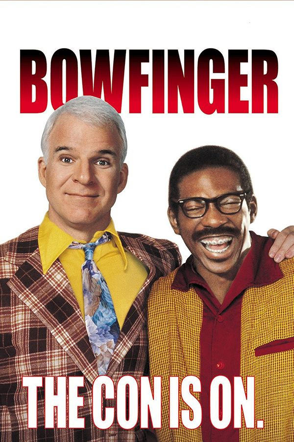 Bowfinger - A bumbling producer and his cast of misfits trick Hollywood's leading box office star, Kit Ramsey, into unknowingly appearing in their film.