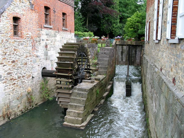 Watermill detail
