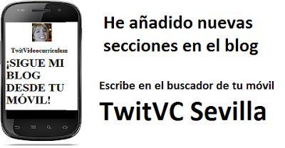 TwitVC Sevilla Empleo. Busca mi blog en tu móvil. Ofertas, bolsa de trabajo, Ayuntamiento.: Ofertas de empleo, bolsa de trabajo, Infojobs,  Ay...