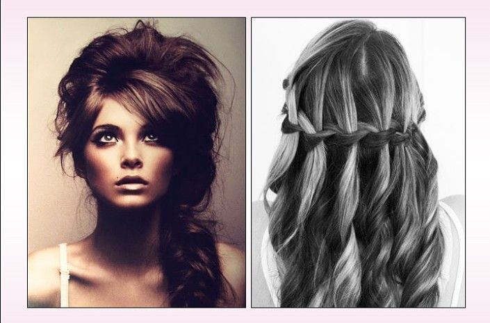 Add a little drama (the good kind) to your prom night with these cool hair styles.