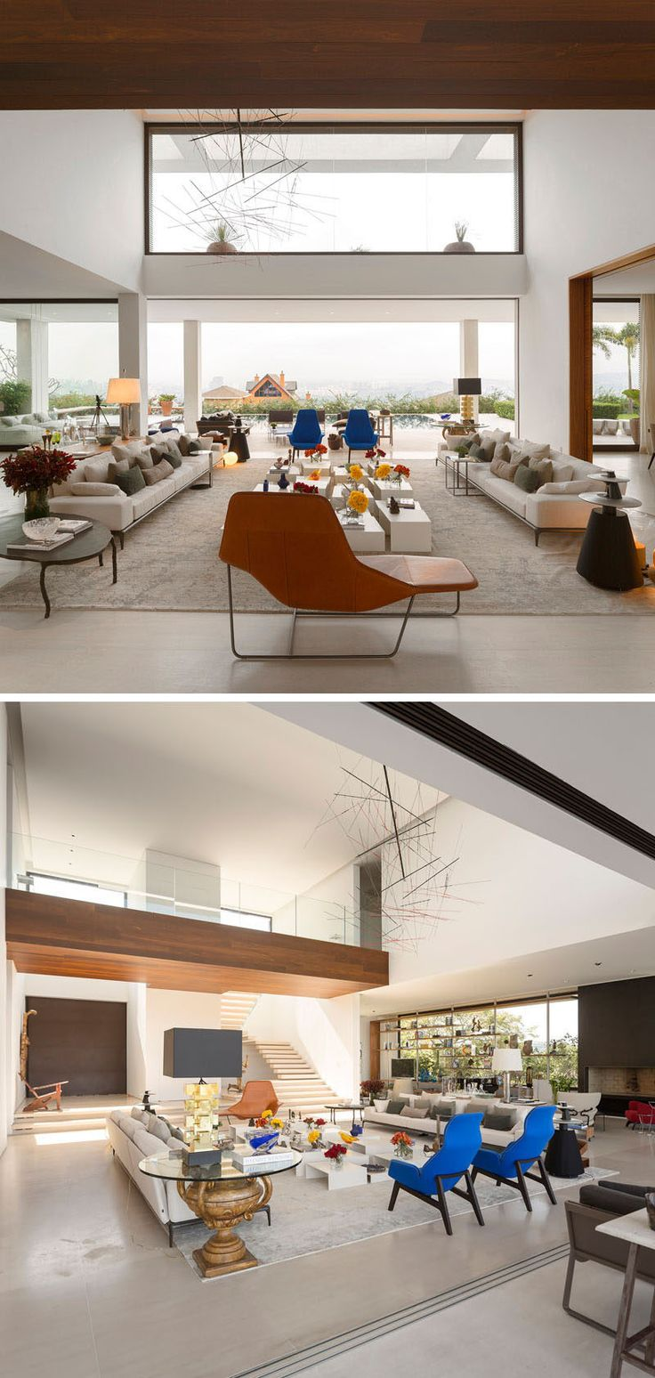 This Large Living Is Centered Around A Coffee Table, Made From Various  Smaller Height Tables. Part 90