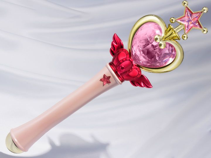 #transformer sailor moon proplica pink moon stick