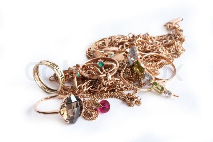 Pile of Costume Jewelry images
