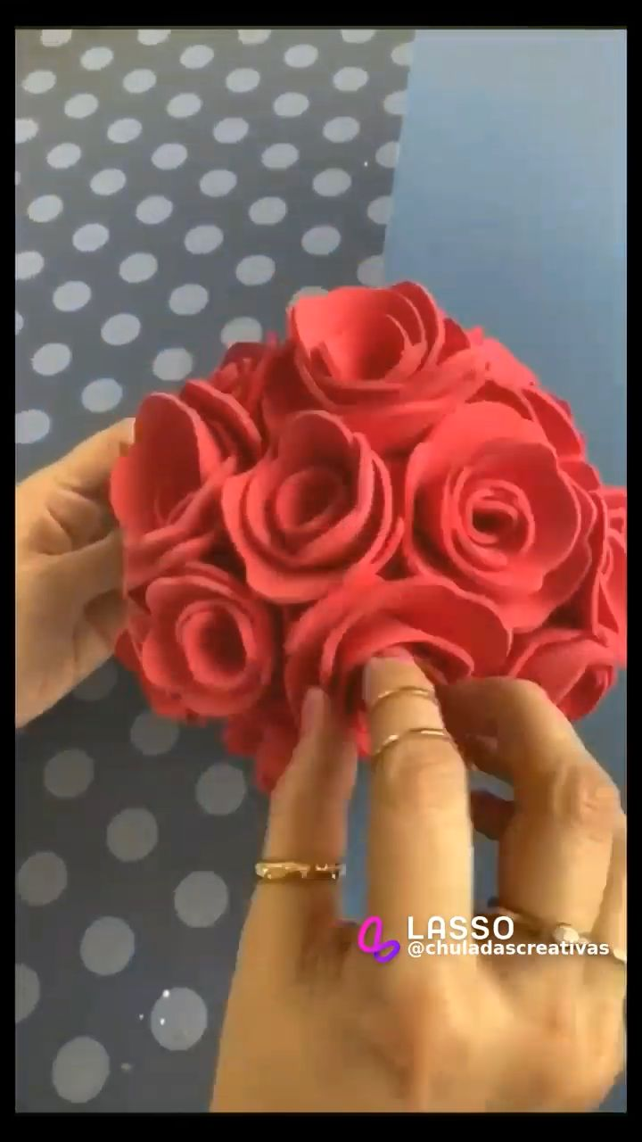 5 Min Crafts, Diy Crafts, Diy Gifts For Mom, Ideas Para Fiestas, Origami, Paper Crafts, Diy Projects, Make It Yourself, Flowers