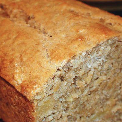 Tropical Pineapple Coconut Banana Bread @keyingredient #bread