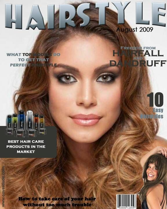 Sally Jara Miss Paraguay Universe 2014 Hairstyle magazine Cover