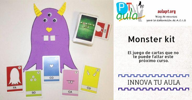 Monster Kit Es un juego que permite practicar habilidades creativas de una forma divertida. Un juego donde los más pequeñ@s (y no tanto) podrán dibujar,