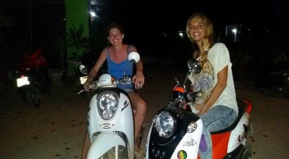 What to do on Koh Lanta - Ride a Motorbike - A Waitress Abroad