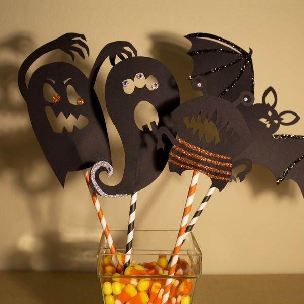 How to Make Halloween Shadow Puppets | eHow