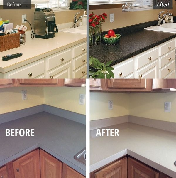 Kitchen Renovation Ideas How To Refinish Countertops