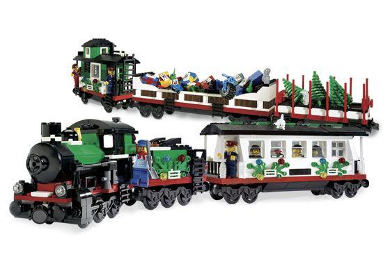 LEGO 10173-1: Holiday Train   Brickset: LEGO set guide and database