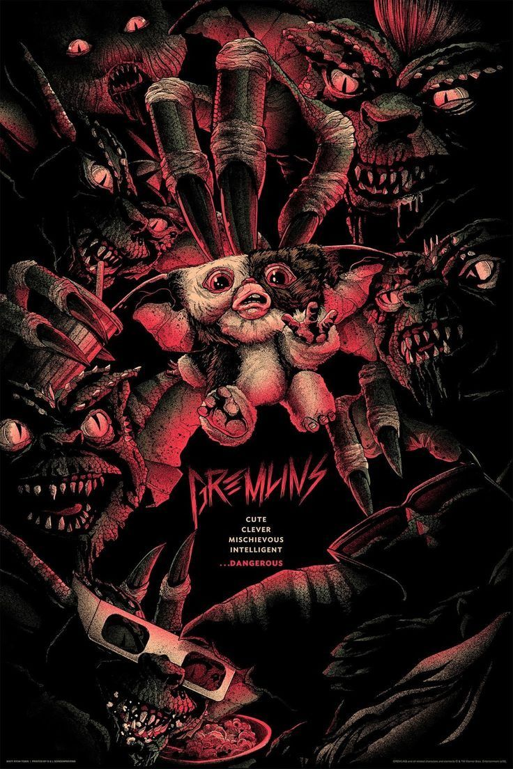 Gremlins Posters By Matt Ryan Tobin And Glen Brogan