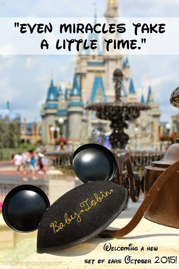 Disney Pregnancy Announcement | Couponing & Cooking