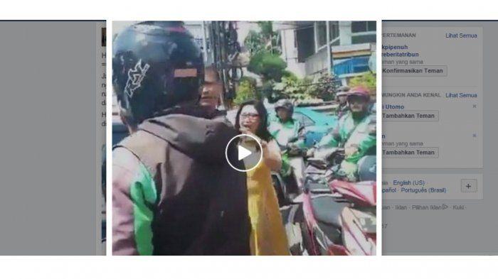 Heboh! Wanita yang Ngaku Pengacara Ini Ngamuk di Jalan, Netizen: Mau Jadi Artis Dia