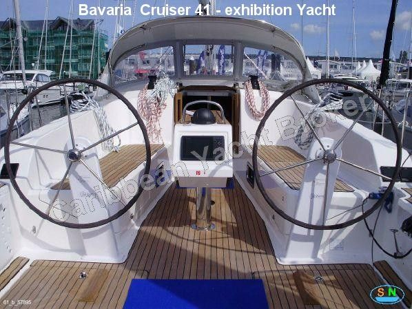Caribbean Yacht Broker - Bavaria  Cruiser 41 - exhibition Yacht