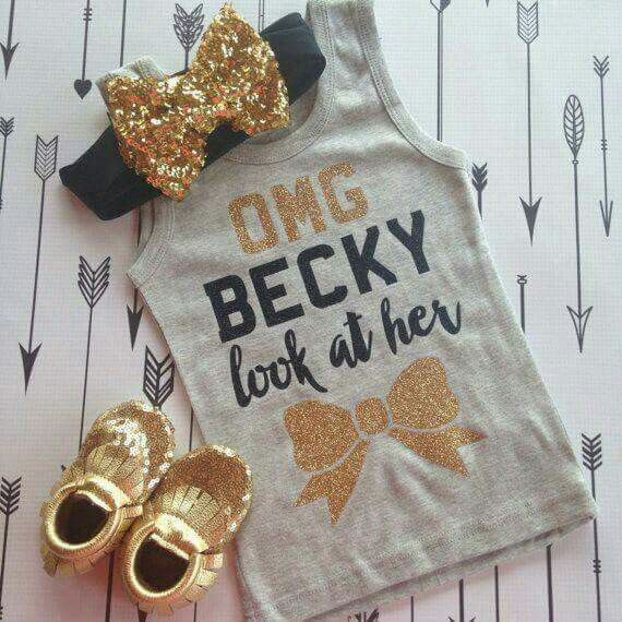 OMG BECKY look at her (bow)