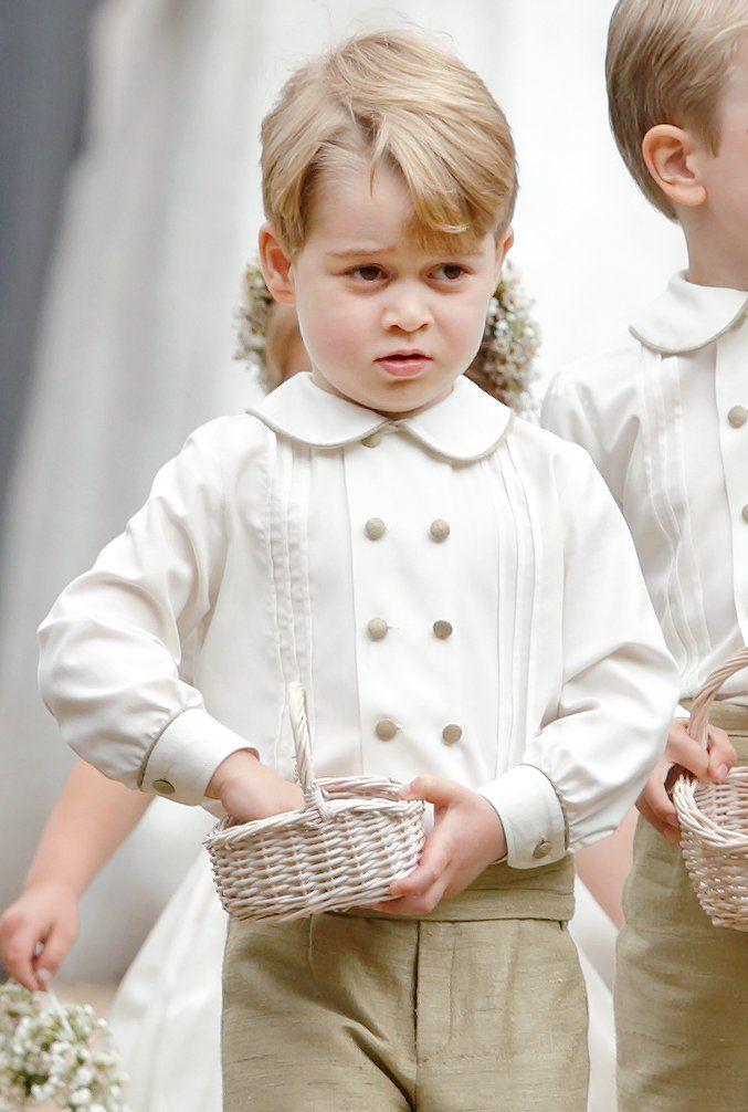 Последние фото принца джорджа кембриджского