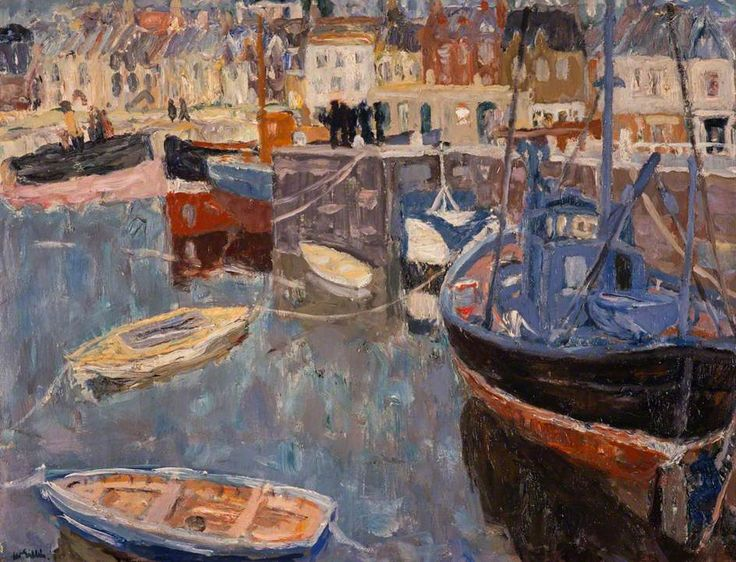 Anstruther Harbour - William George Gillies