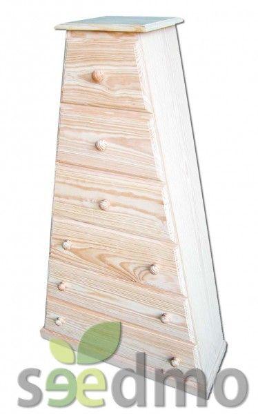 Muebles y decoraci n pir mide con cajones barata por tan for Compra de muebles por internet