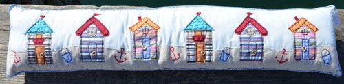 Beach Hut Draft Excluder