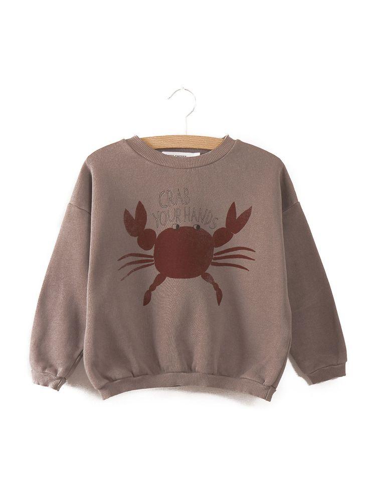 Sweatshirt Crab your hands