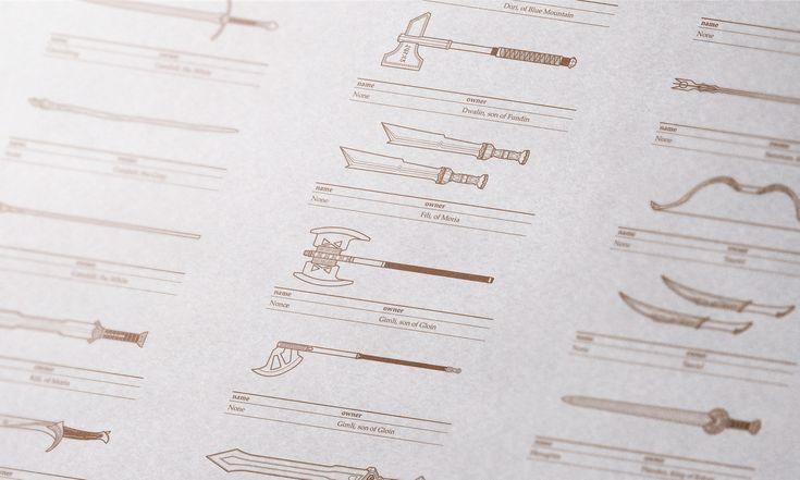 반지의 제왕 & 호빗: 무기 아이콘