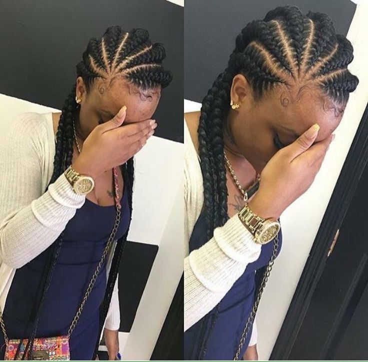 Admirable 17 Best Images About Goddess Braids On Pinterest Ghana Braids Hairstyle Inspiration Daily Dogsangcom