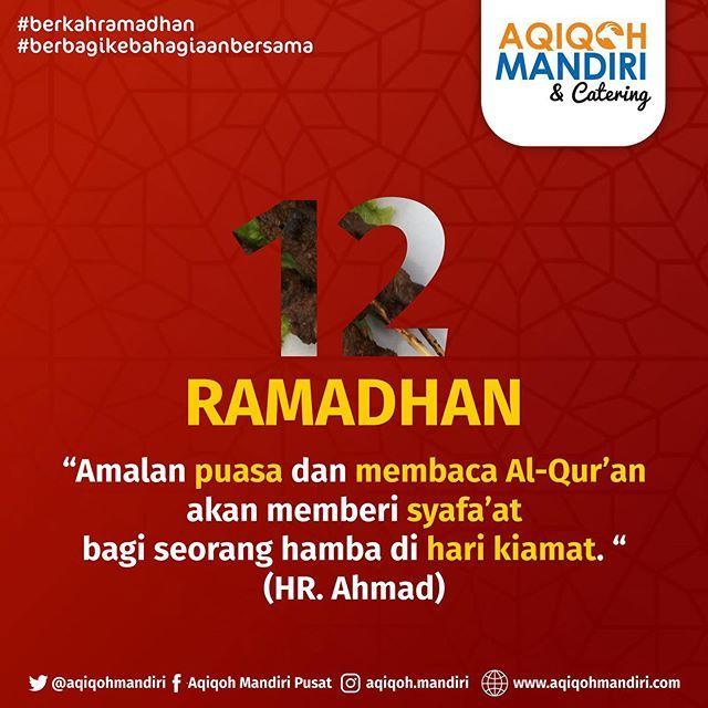 Ayo Kawan Tetap Semangat Menjalankan Ibadah Puasa Ramadhan