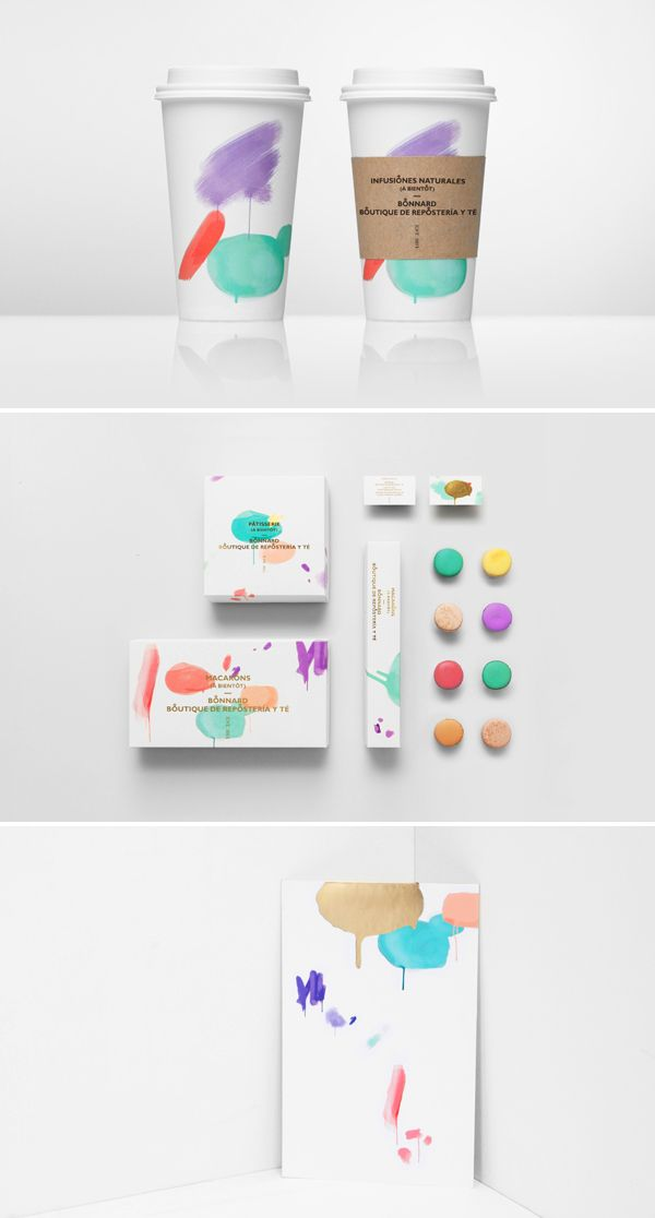 Bonnard > a Mexican french-inspired tea and confectionary shop > design: Anagrama