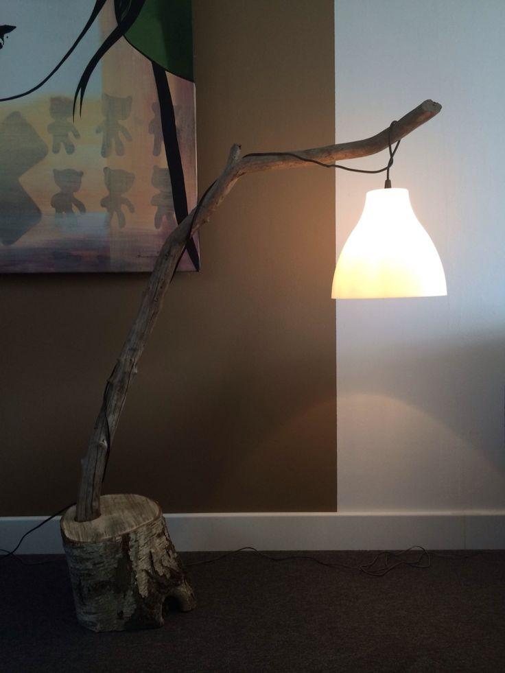 Drijfhout lamp  (driftwood lamp) (Ricksdrijfhoutcompany.nl)