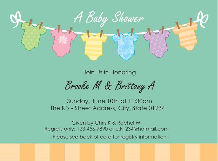 17 Best ideas about Baby Shower Invitation Templates – Baby Shower Invitations Templates for Free